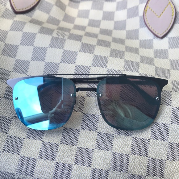 45e1036119211 Blue lens quay sunglasses. M 5ad6129ac9fcdf9db10ee667. Other Accessories ...